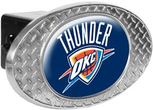 NBA Oklahoma Thunder Diamond Plate Hitch Cover