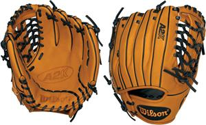 "A2K BW38 Pro Leather 11.75"" Pitcher Baseball Glove"