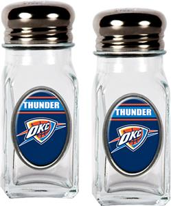NBA Oklahoma Thunder Salt & Pepper Shaker Set