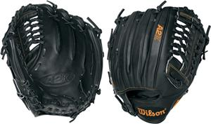 "A2K CJW Blk Pro Leather 12"" Pitcher Baseball Glove"