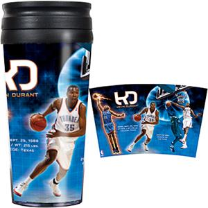 NBA Thunder Kevin Durant 16oz. Travel Tumbler