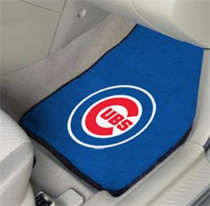 Fan Mats Chicago Cubs Carpet Car Mats