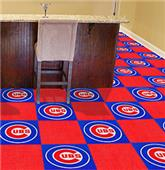 Fan Mats MLB Chicago Cubs Carpet Tiles