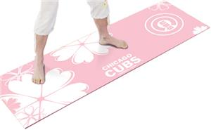 Fan Mats Chicago Cubs Pink Yoga Mats