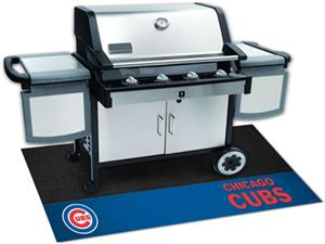 Fan Mats Chicago Cubs Grill Mats