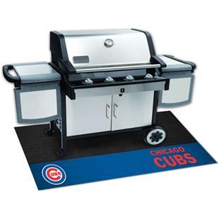 Fan Mats MLB Chicago Cubs Grill Mats