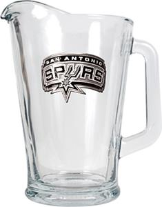 NBA San Antonio Spurs 1/2 Gallon Glass Pitcher