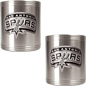 NBA San Antonio Spurs Stainless Steel Can Holders