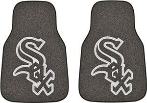 Fan Mats Chicago White Sox Carpet Car Mats