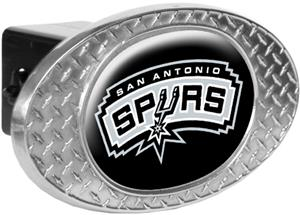 NBA San Antonio Spurs Diamond Plate Hitch Cover