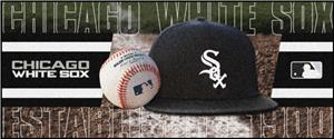 Fan Mats Chicago White Sox Baseball Runners