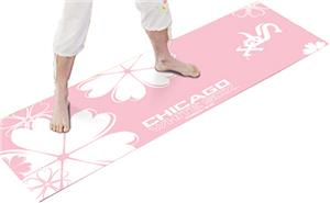 Fan Mats Chicago White Sox Pink Yoga Mats