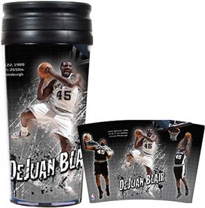 NBA Spurs DeJuan Blair 16oz. Travel Tumbler