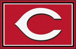 Fan Mats Cincinnati Reds 4' x 6' Rugs