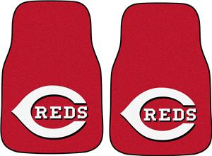 Fan Mats Cincinnati Reds Carpet Car Mats (set)