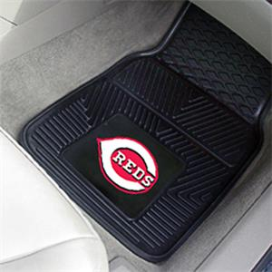 Fan Mats Cincinnati Reds Vinyl Car Mats