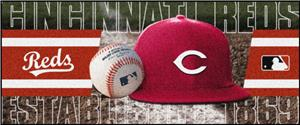 Fan Mats Cincinnati Reds Baseball Runners
