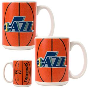 NBA Utah Jazz GameBall Mug (Set of 2)