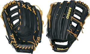"A2000 ELO Black 12.75"" Outfield Baseball Glove"
