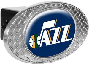 NBA Utah Jazz Diamond Plate Hitch Cover