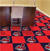 Fan Mats MLB Cleveland Indians Carpet Tiles