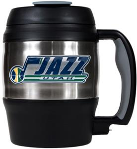 NBA Utah Jazz 52oz Stainless Macho Travel Mug