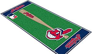 Fan Mats Cleveland Indians Baseball Runners