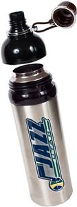 NBA Utah Jazz Water Bottle w/Black Top