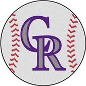 Fan Mats Colorado Rockies Baseball Mats