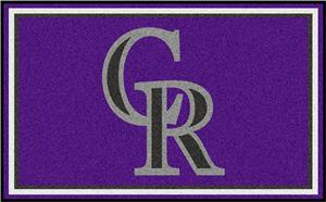 Fan Mats Colorado Rockies 4' x 6' Rugs
