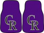 Fan Mats Colorado Rockies Carpet Car Mats (set)
