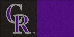 Fan Mats MLB Colorado Rockies Carpet Tiles
