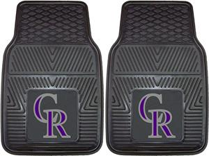 Fan Mats Colorado Rockies Vinyl Car Mats