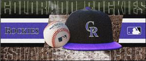 Fan Mats Colorado Rockies Baseball Runners