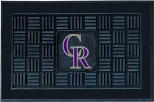 Fan Mats Colorado Rockies Door Mats