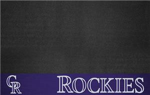Fan Mats MLB Colorado Rockies Grill Mats