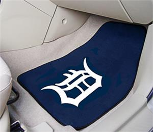 Fan Mats Detroit Tigers Carpet Car Mats