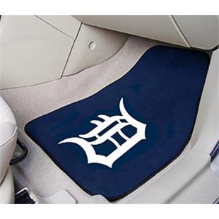 Fan Mats Detroit Tigers Carpet Car Mats (set)