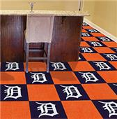 Fan Mats MLB Detroit Tigers Carpet Tiles