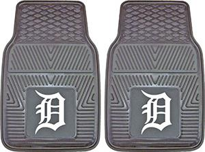 Fan Mats Detroit Tigers Vinyl Car Mats