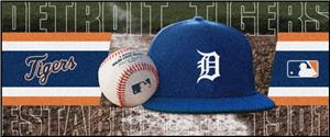 Fan Mats Detroit Tigers Baseball Runners