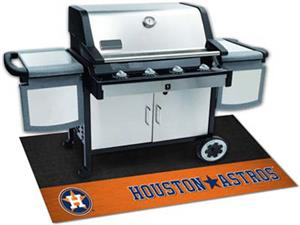 Fan Mats MLB Houston Astros Grill Mats