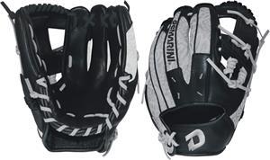 "DeMarini Rogue 11.5"" Infield Silver Baseball Glove"