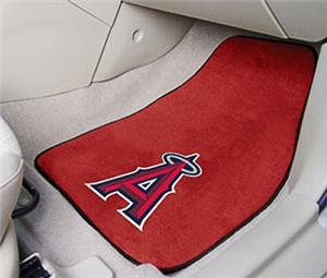 Fan Mats Los Angeles Angels Carpet Car Mats