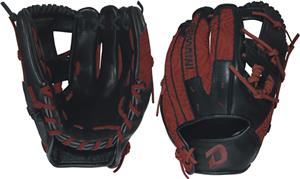 "DeMarini Rogue 11.5"" Infield Red Baseball Glove"