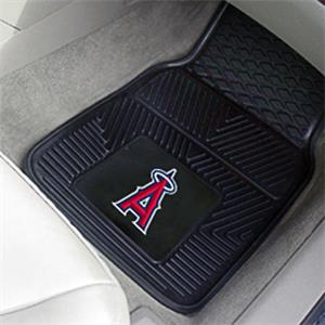 Fan Mats Los Angeles Angels Vinyl Car Mats