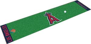 Fan Mats Los Angeles Angels Putting Green Mats