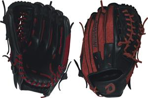 "DeMarini Rogue 12.5"" Outfield Red Baseball Glove"