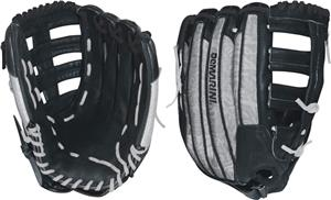 "DeMarini Rogue 14"" Silver All Pos. Slowpitch Glove"