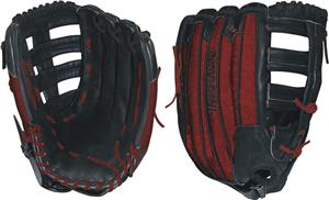 "DeMarini Rogue 14"" Red All Pos. Slowpitch Glove"